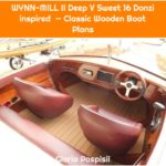 WYNN-MILL II Deep V Sweet 16 Donzi inspired — Classic Wooden Boat Plans