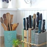 DIY Knife Holder: Flea Market Inspired - Town & Country Living