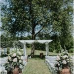 Gazebo Garland and Flowers Amazing Flower Moments #Outdoorweddingphotog ...