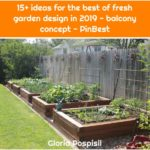 15+ ideas for the best of fresh garden design in 2019 - balcony concept - PinBest