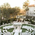 Enchanting California White Wedding at the Monarch Beach Resort Wedding Ceremony - Wed ...
