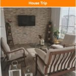 With natural details, earth colors .. A comfortable and warm house!   House Trip