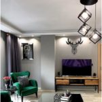 Modern and Art Deco Meeting Living Room in This Istanbul House