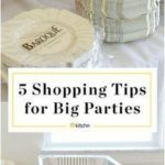 5 Shopping Tips for DIY Wedding Receptions and Other Big Parties. Planning on ho...