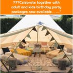 "Pitch Luxury Camping on Instagram: ""Schools out ! Party in our backyard sleepover tents. 🎉🎉🎉Celebrate together with adult and kids birthday party packages now available. . .…"""