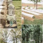 30 Rustic Outdoor Wedding Decorations with Hay Bales - Oh Best Day Ever