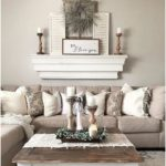 36 Popular Rustic Farmhouse Living Room Decor Ideas For Comfortable Home#comfort...