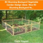 80 Stunning Backyard Vegetable Garden Design Ideas Nice 80 Stunning Backyard Ve...