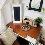 { Small Closet into a Thrifty Makeup Vanity!! } #kitchengarden #gardenflowers #g...