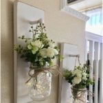 Home Decor, Mason Jar Sconces, Mason Jar Decor, Farmhouse Wall Decor ...