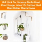 Wall Hook For Hanging Plants Wood Plant Hanger Indoor Or Outdoor Wall Plant Holder Plants Hooks