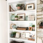 How to style open shelves: 3 tips for a tidy look - shelf bookcase - ide ... - Home accessories blog