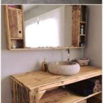 25 ideas for pallet projects to give your bathroom rustic splendor - home decors