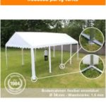 Reduced party tents