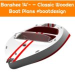 Banshee 14'- — Classic Wooden Boat Plans #boatdesign