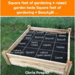 Square feet of gardening # raised garden beds Square feet of gardening # BeautyBl ...