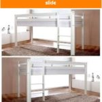 Reduced loft beds & play beds with slide