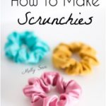 How to Make a Scrunchie - Melly Sews