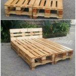 The best and simplest DIY ideas with recycled wooden pallets #best #the #… - bed ideas